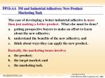 pp11 aa 3m and industrial adhesives new product marketing task