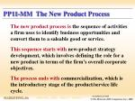pp11 mm the new product process