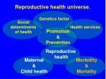 reproductive health universe