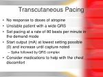 transcutaneous pacing