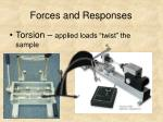 forces and responses7
