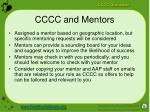 cccc and mentors