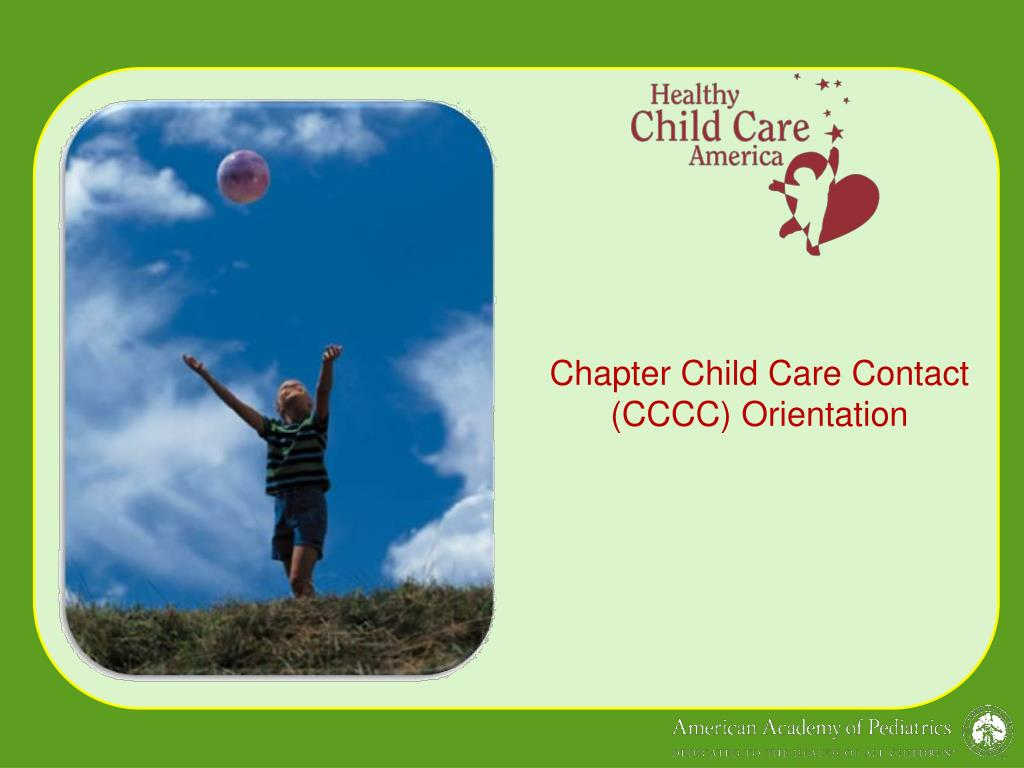 chapter child care contact cccc orientation l.