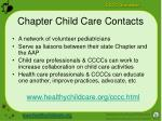 chapter child care contacts