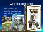 wolf documentaries