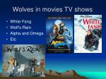 wolves in movies tv shows