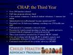 chap the third year