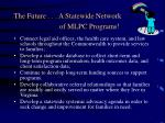 the future a statewide network of mlpc programs