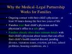 why the medical legal partnership works for families