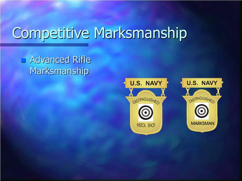 competitive marksmanship l.