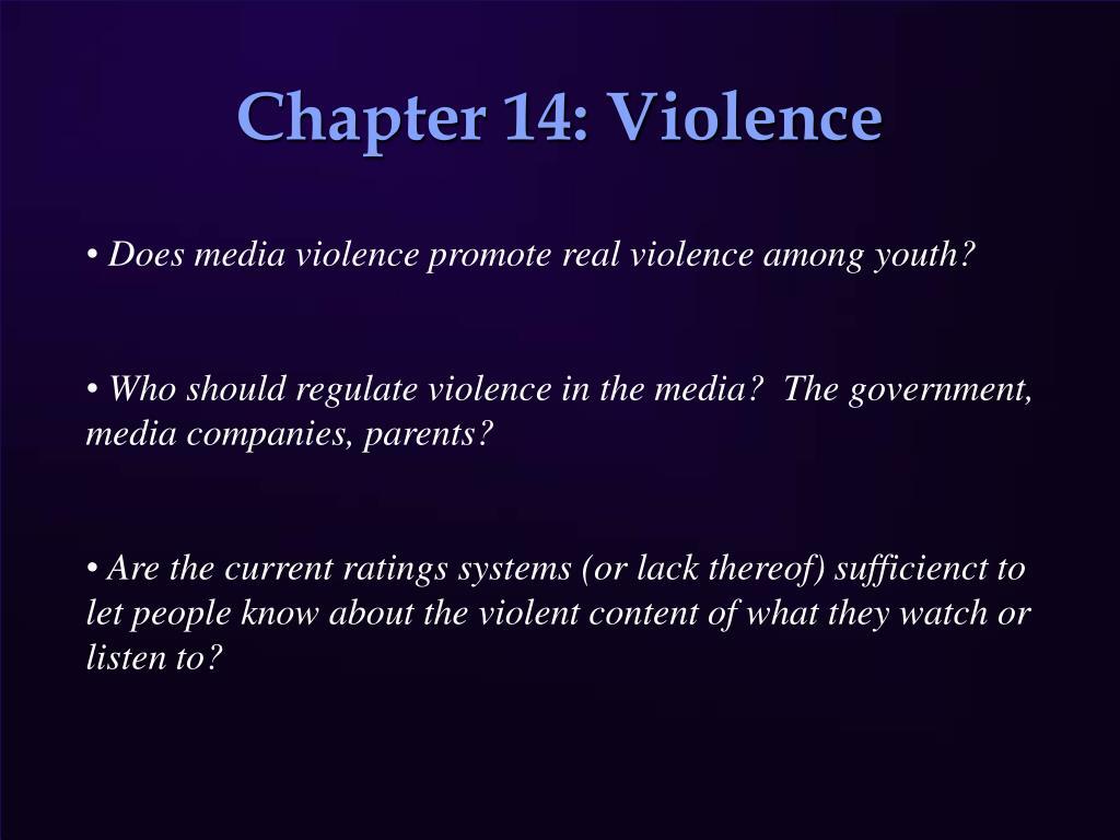 chapter 14 violence l.