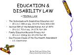 education disability law26