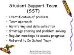 student support team sst
