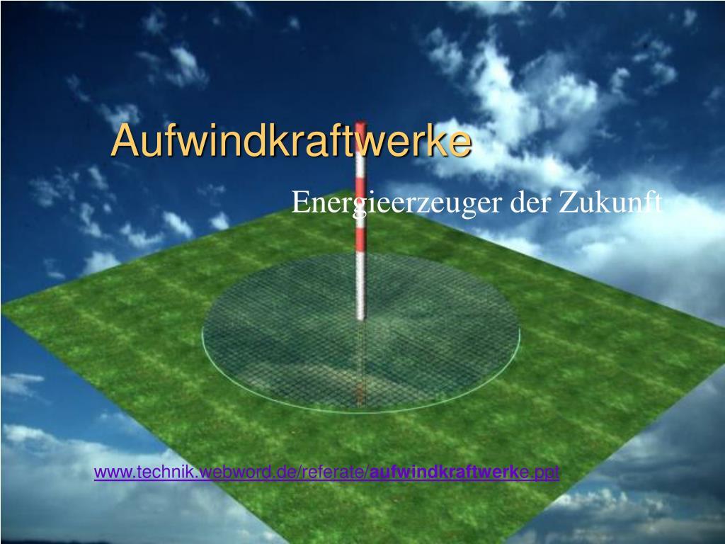aufwindkraftwerke l.