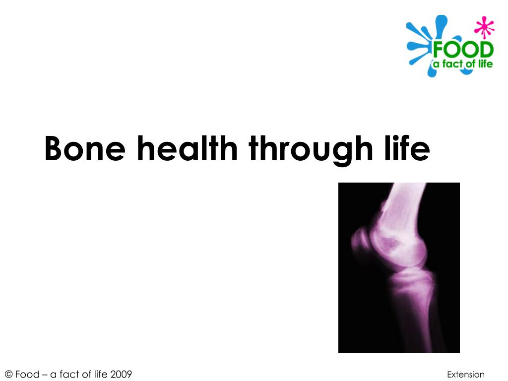 bone health through life l.