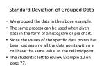 standard deviation of grouped data9