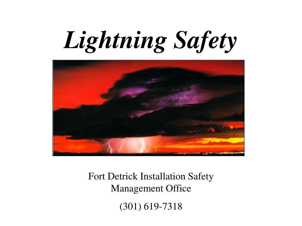 lightning safety l.
