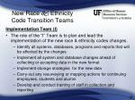new race ethnicity code transition teams25