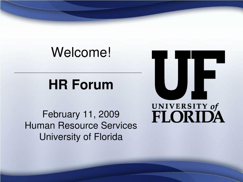 welcome hr forum l.