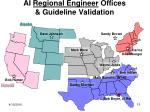 ai regional engineer offices guideline validation