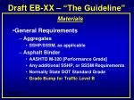 draft eb xx the guideline10
