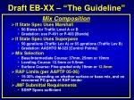 draft eb xx the guideline11