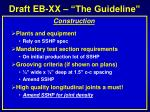 draft eb xx the guideline12