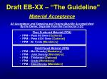 draft eb xx the guideline13