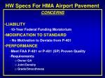 hw specs for hma airport pavement6