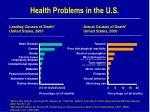 health problems in the u s