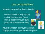 los comparativos6