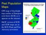 pest population maps