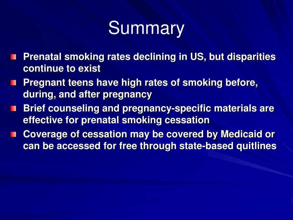 ppt tobacco cessation during pregnancy prevalence and interventions van tong mph. Black Bedroom Furniture Sets. Home Design Ideas