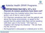 kaleida health sphm programs15