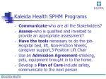 kaleida health sphm programs20