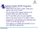 kaleida health sphm programs21