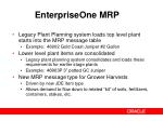 enterpriseone mrp