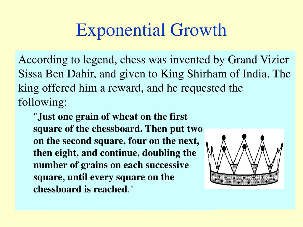 exponential growth l.