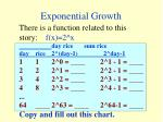 exponential growth5