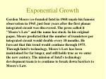 exponential growth8