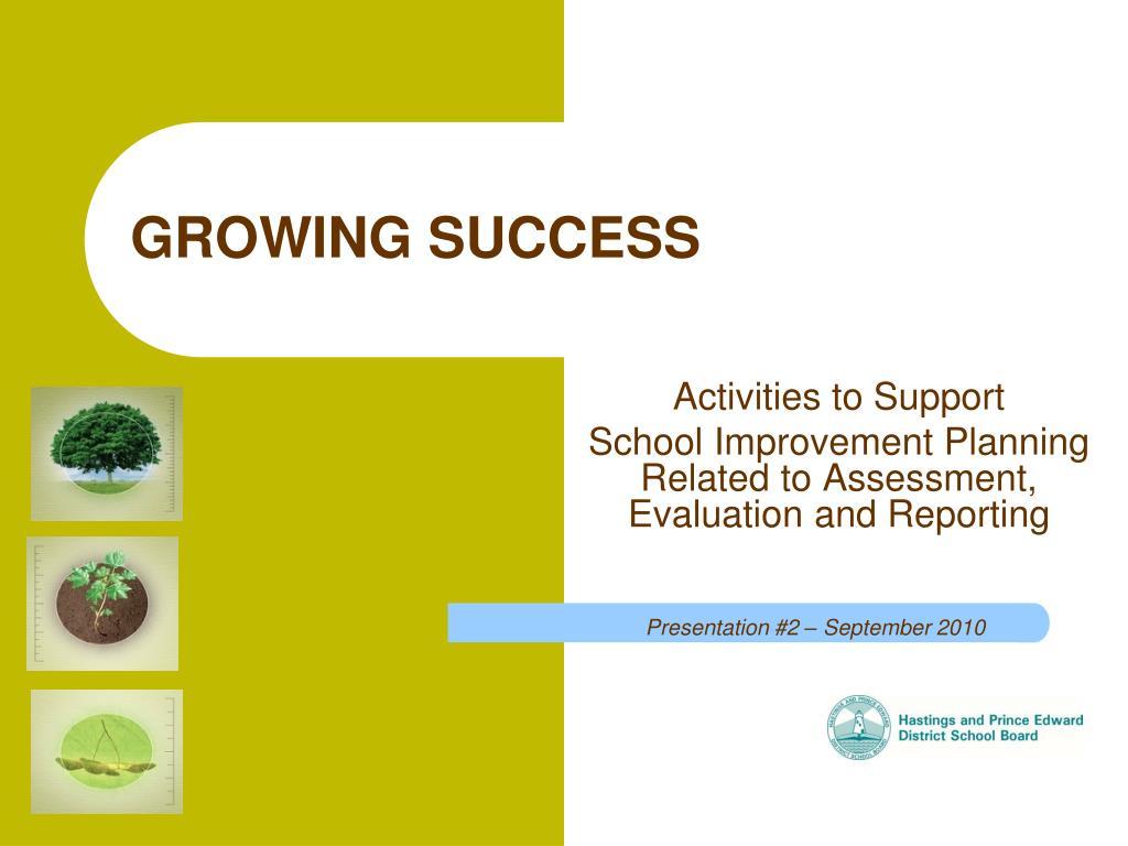 growing success l.