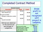 completed contract method34