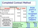completed contract method35