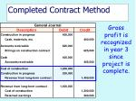 completed contract method36