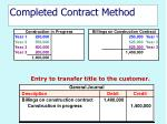 completed contract method37