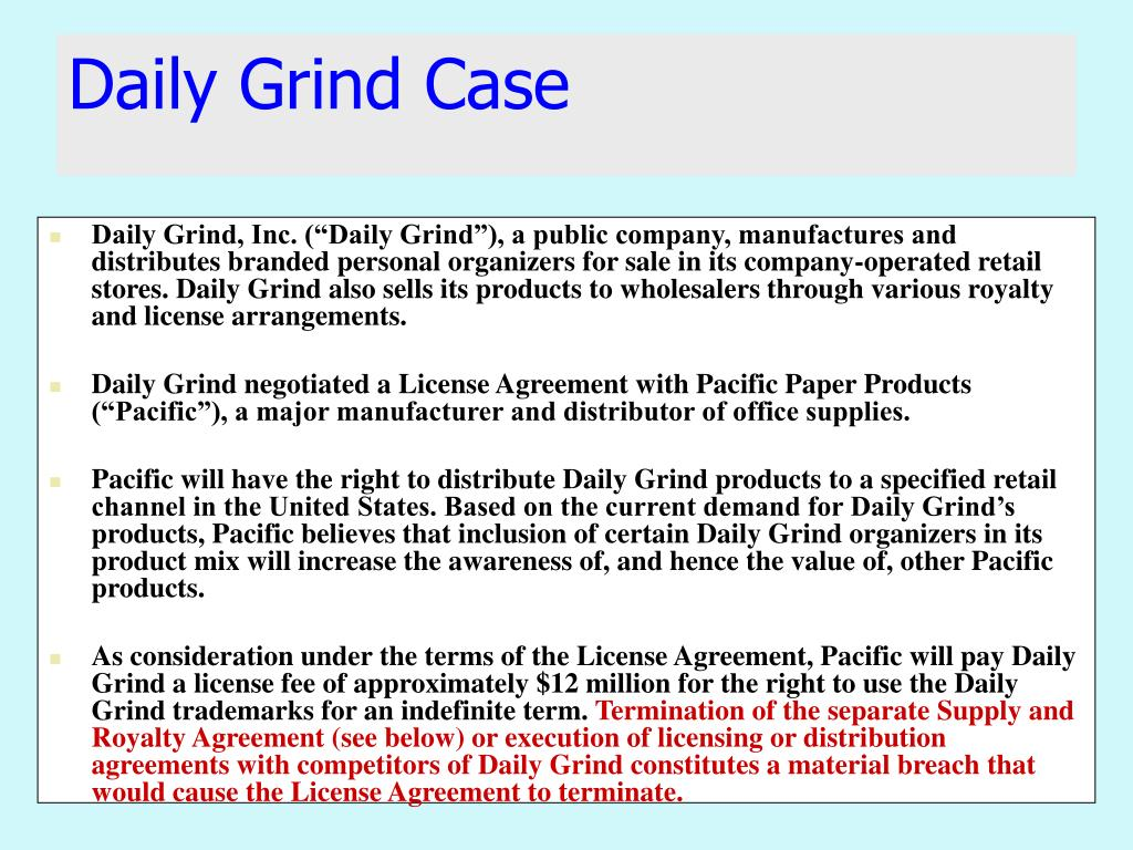 daily grind case l.