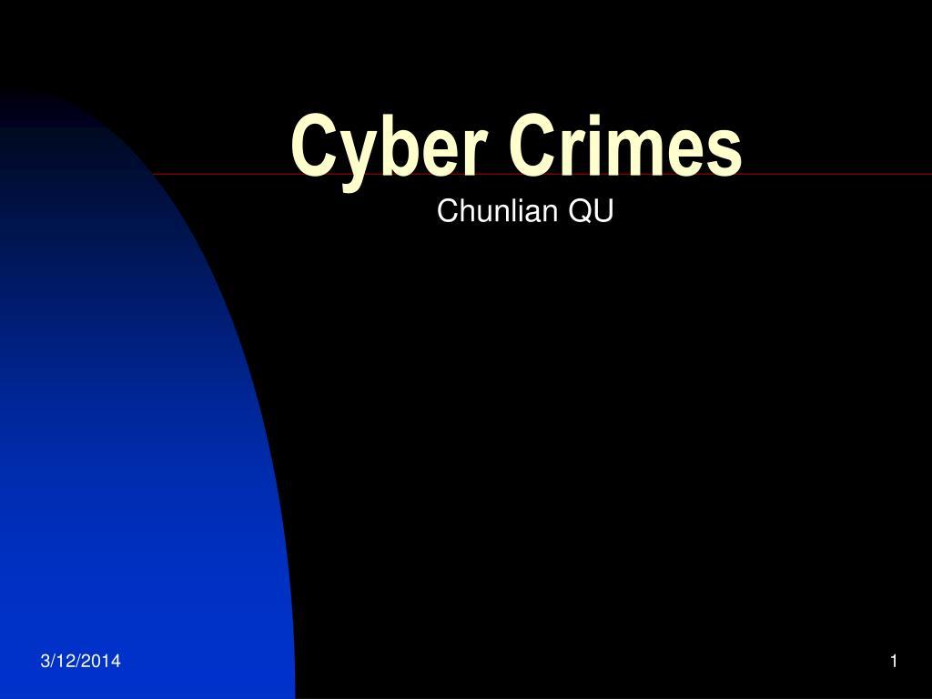 cyber crimes l.