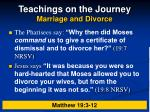 teachings on the journey marriage and divorce13