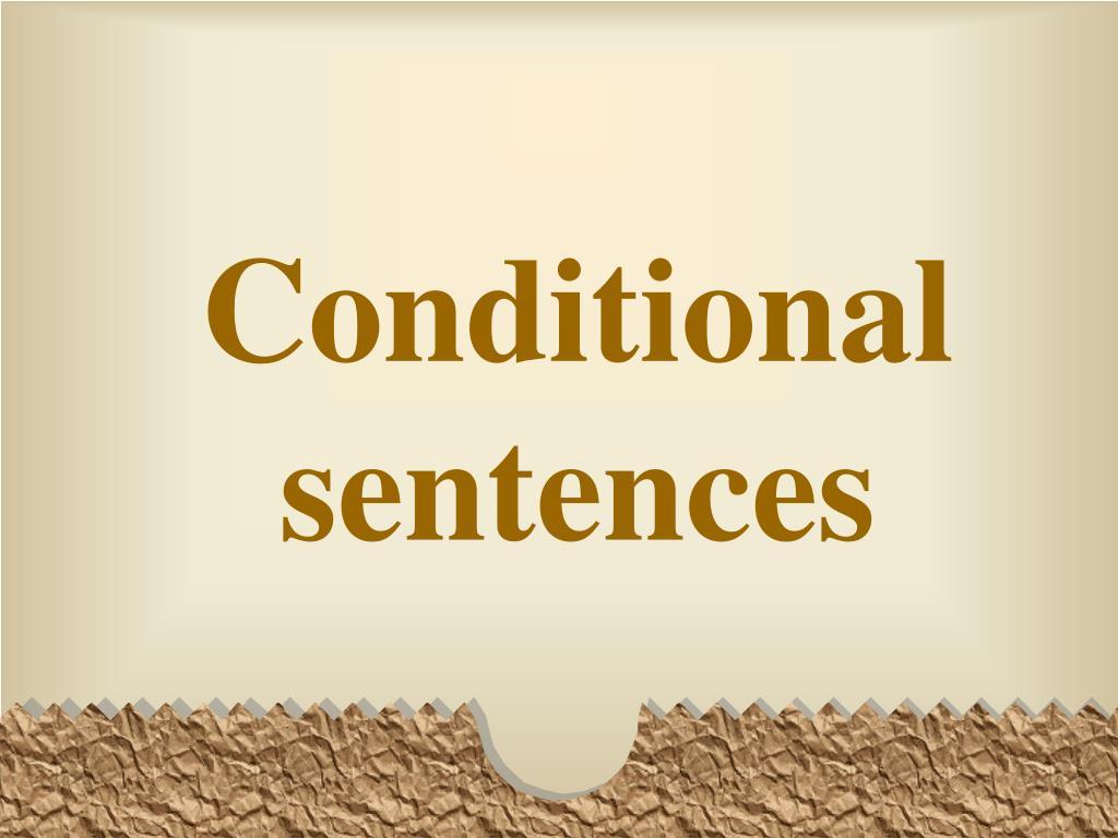 conditional sentences l.