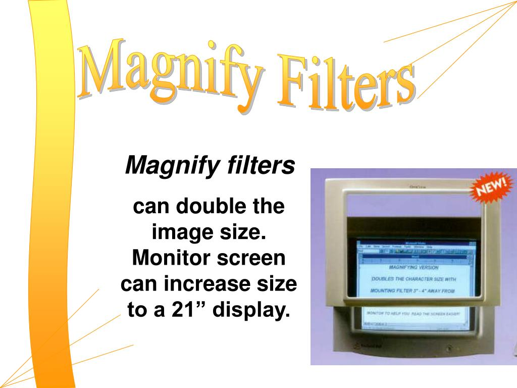 Magnify Filters